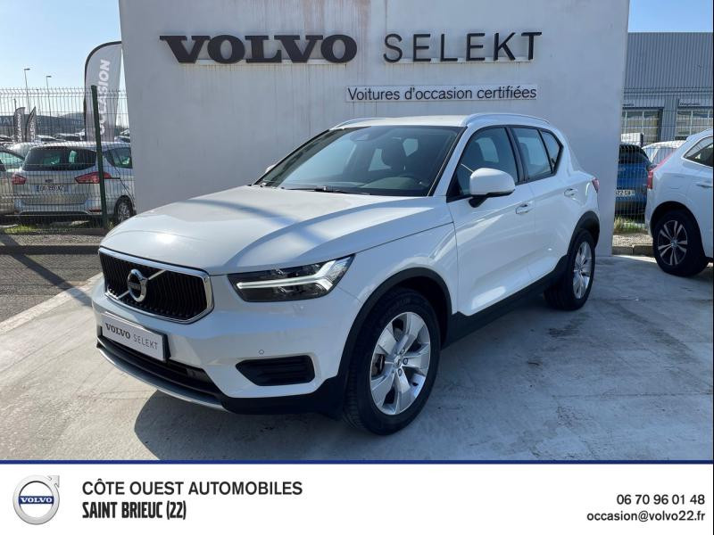 Volvo XC40 D4 AdBlue AWD 190ch Business Geartronic 8 Diesel Blanc Glace Occasion à vendre