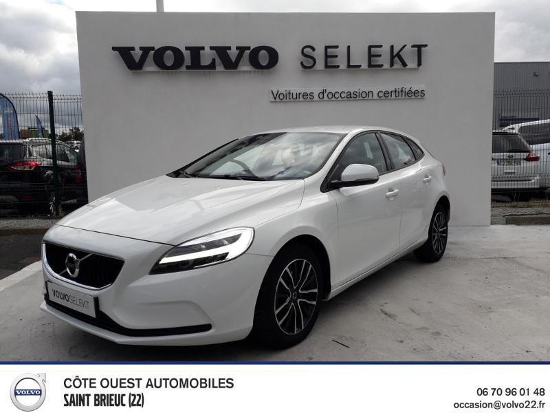 Volvo V40 D2 120ch Business Diesel Blanc Glace Occasion à vendre