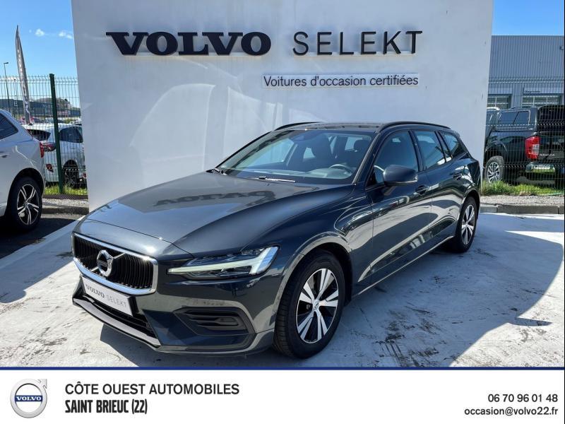 Volvo V60 D3 150ch AdBlue Business Geartronic Diesel Gris Savile Métallisé Occasion à vendre