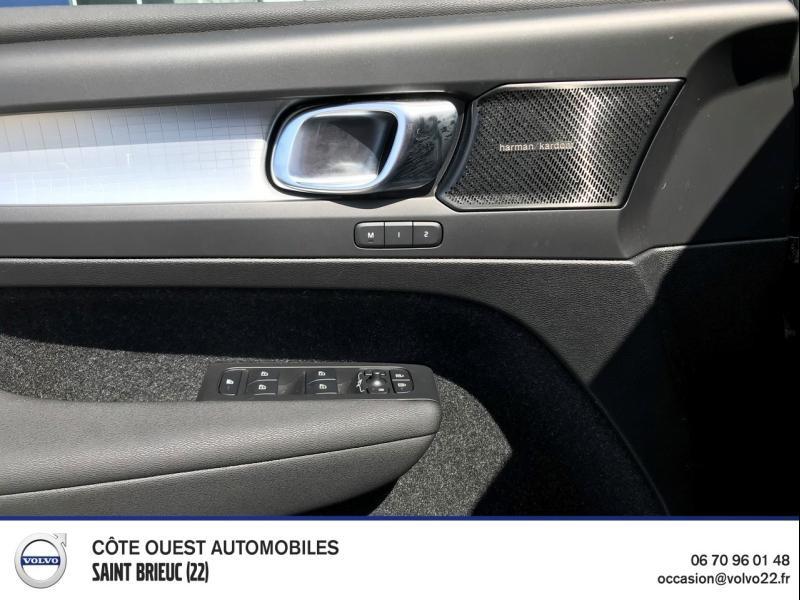 Photo 6 de l'offre de VOLVO XC40 T5 Recharge 180 + 82ch Business DCT 7 à 46900€ chez Côte Ouest Automobiles