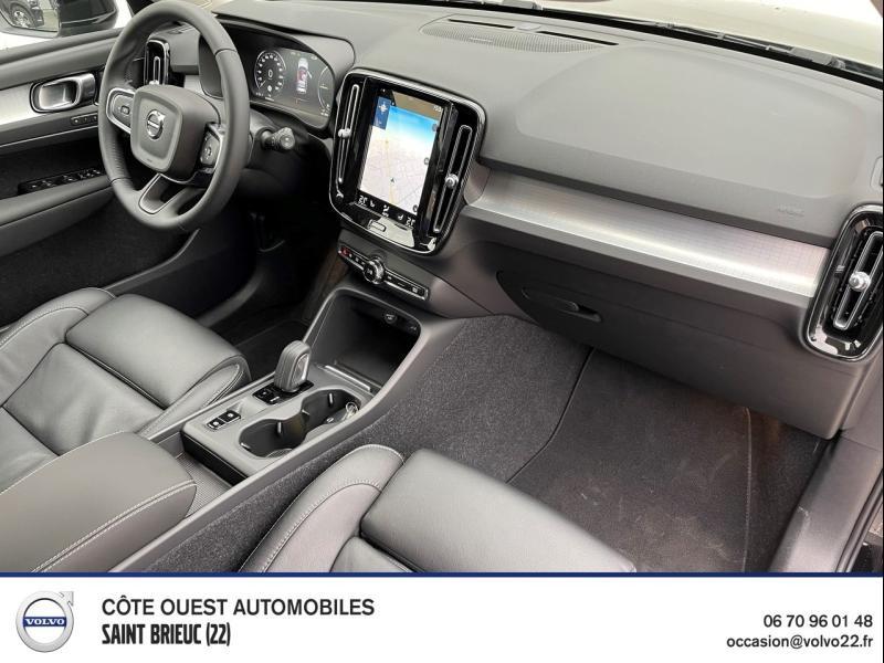 Photo 6 de l'offre de VOLVO XC40 T4 Recharge 129 + 82ch Business DCT 7 à 46900€ chez Côte Ouest Automobiles