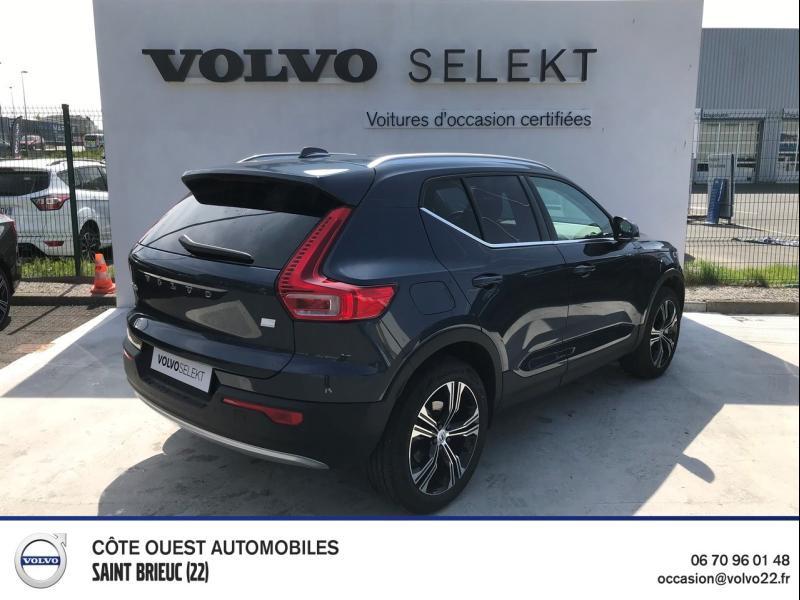 Photo 2 de l'offre de VOLVO XC40 T5 Recharge 180 + 82ch Business DCT 7 à 46900€ chez Côte Ouest Automobiles