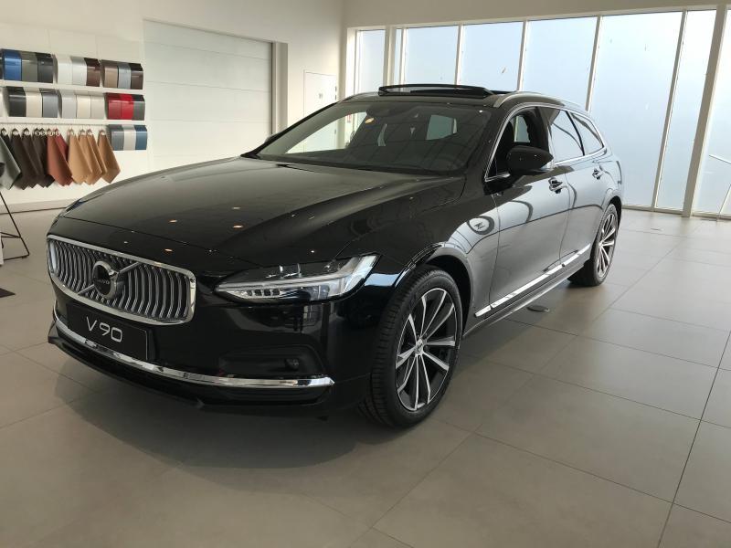 Volvo V90 B4 Adblue 197ch Inscription Luxe Geartronic Diesel/Micro-Hybride Noir Onyx Métallisé Occasion à vendre