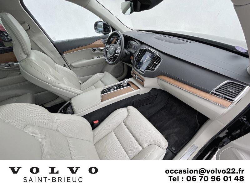 Photo 6 de l'offre de VOLVO XC90 T8 Twin Engine 303 + 87ch Inscription Luxe Geartronic 7 places à 61990€ chez Côte Ouest Automobiles