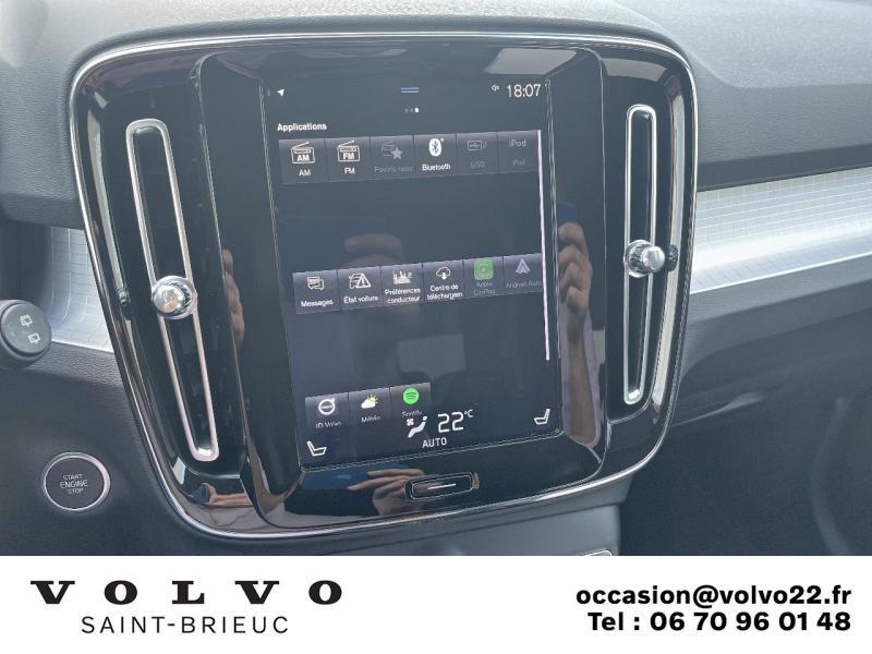 Photo 12 de l'offre de VOLVO XC40 D3 AdBlue 150ch Business Geartronic 8 à 30990€ chez Côte Ouest Automobiles