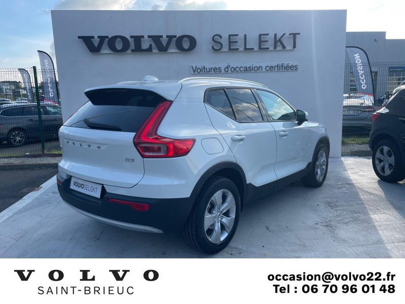 Photo 3 de l'offre de VOLVO XC40 D3 AdBlue 150ch Business Geartronic 8 à 30990€ chez Côte Ouest Automobiles