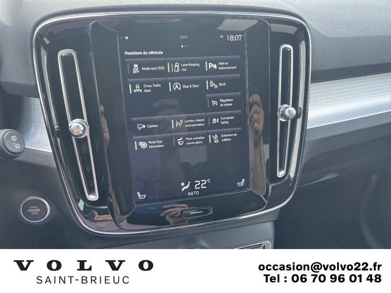 Photo 11 de l'offre de VOLVO XC40 D3 AdBlue 150ch Business Geartronic 8 à 30990€ chez Côte Ouest Automobiles