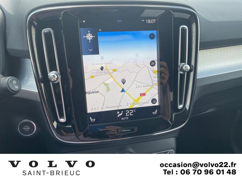 Photo 10 de l'offre de VOLVO XC40 D3 AdBlue 150ch Business Geartronic 8 à 30990€ chez Côte Ouest Automobiles