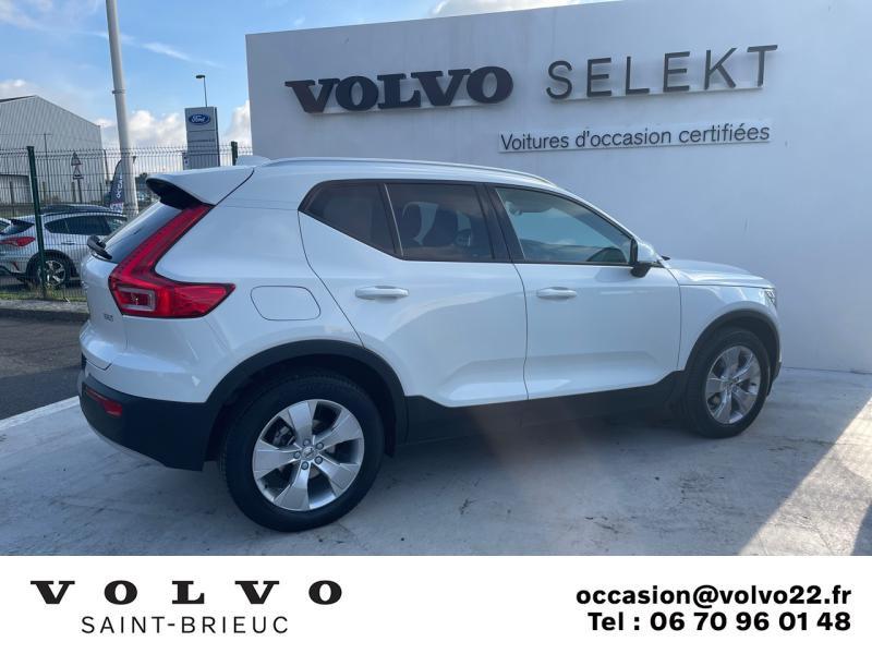 Photo 4 de l'offre de VOLVO XC40 D3 AdBlue 150ch Business Geartronic 8 à 30990€ chez Côte Ouest Automobiles