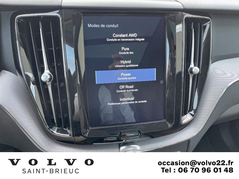 Photo 17 de l'offre de VOLVO XC60 T8 Twin Engine 320 + 87ch Inscription Luxe Geartronic à 41990€ chez Côte Ouest Automobiles