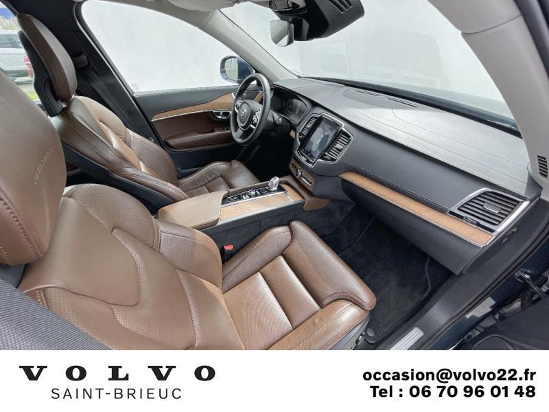 Photo 6 de l'offre de VOLVO XC90 T8 Twin Engine 320 + 87ch Inscription Luxe Geartronic 7 places à 52990€ chez Côte Ouest Automobiles