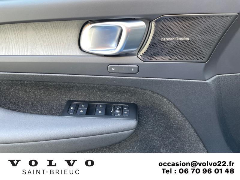 Photo 11 de l'offre de VOLVO XC40 T5 Twin Engine 180 + 82ch Inscription Luxe DCT 7 à 45990€ chez Côte Ouest Automobiles