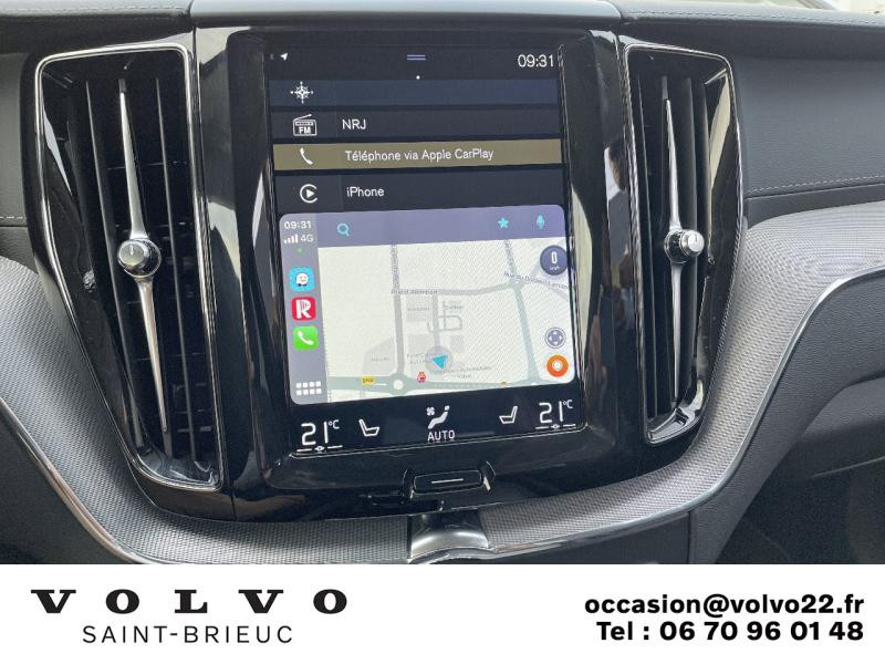 Photo 19 de l'offre de VOLVO XC60 D5 AdBlue AWD 235ch Inscription Geartronic à 45990€ chez Côte Ouest Automobiles