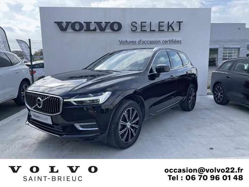 Volvo XC60 D4 AdBlue 190ch Inscription Geartronic Diesel Noir Onyx Occasion à vendre