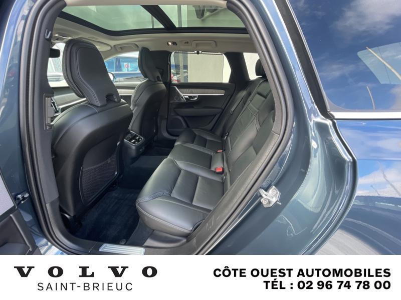 Photo 9 de l'offre de VOLVO V90 B4 Adblue 197ch Inscription Luxe Geartronic à 54990€ chez Côte Ouest Automobiles