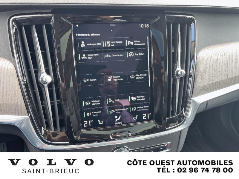 Photo 23 de l'offre de VOLVO V90 B4 Adblue 197ch Inscription Luxe Geartronic à 54990€ chez Côte Ouest Automobiles