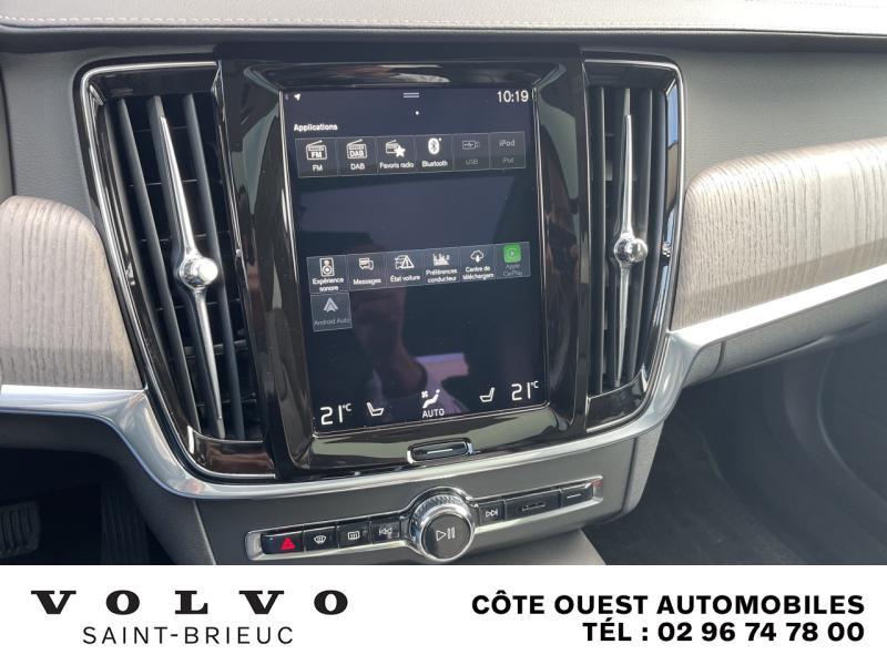 Photo 24 de l'offre de VOLVO V90 B4 Adblue 197ch Inscription Luxe Geartronic à 54990€ chez Côte Ouest Automobiles