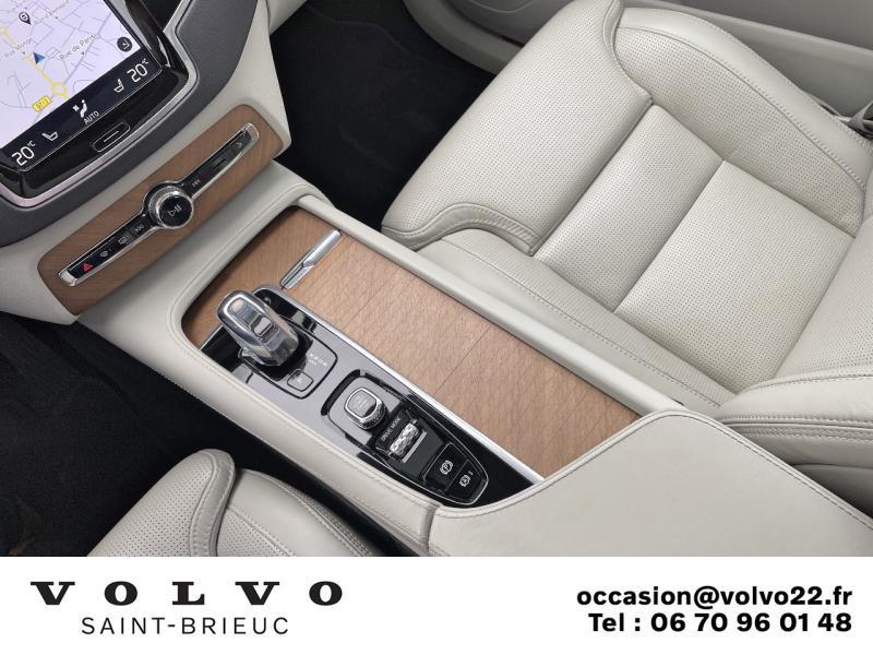 Photo 9 de l'offre de VOLVO XC90 T8 Twin Engine 303 + 87ch Inscription Luxe Geartronic 7 places à 61990€ chez Côte Ouest Automobiles
