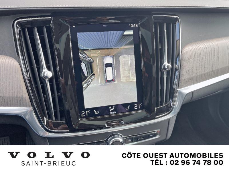 Photo 11 de l'offre de VOLVO V90 B4 Adblue 197ch Inscription Luxe Geartronic à 54990€ chez Côte Ouest Automobiles