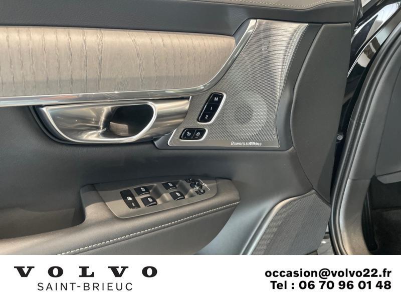 Photo 7 de l'offre de VOLVO V90 B4 Adblue 197ch Inscription Luxe Geartronic à 61900€ chez Côte Ouest Automobiles