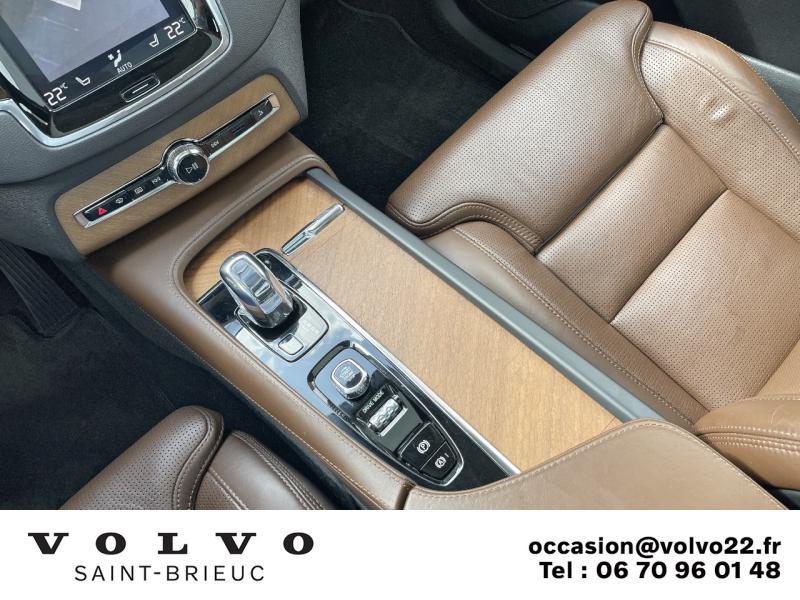 Photo 16 de l'offre de VOLVO XC90 T8 Twin Engine 320 + 87ch Inscription Luxe Geartronic 7 places à 52990€ chez Côte Ouest Automobiles