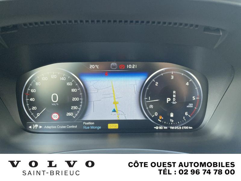 Photo 10 de l'offre de VOLVO V90 B4 Adblue 197ch Inscription Luxe Geartronic à 54990€ chez Côte Ouest Automobiles