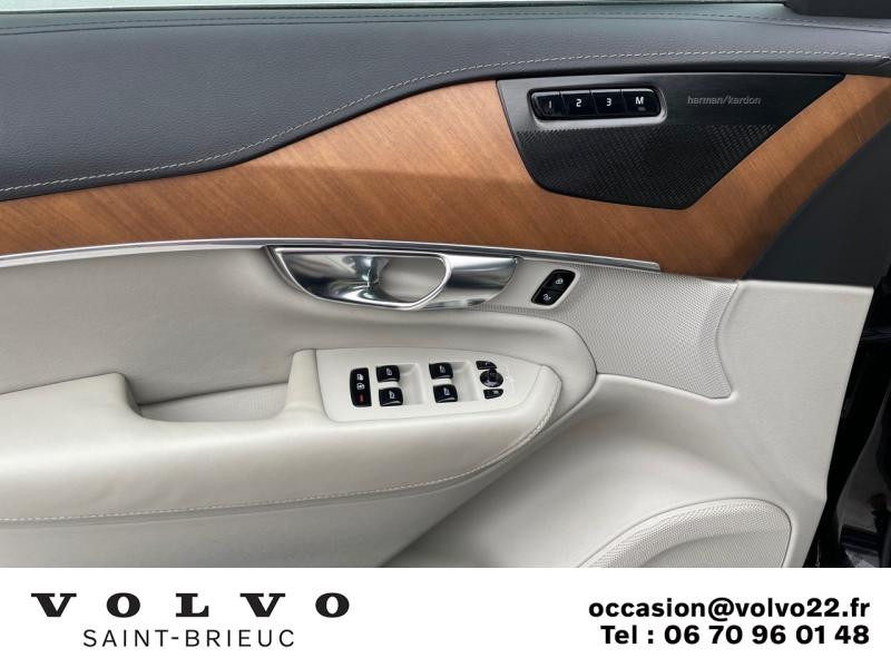 Photo 11 de l'offre de VOLVO XC90 T8 Twin Engine 303 + 87ch Inscription Luxe Geartronic 7 places à 61990€ chez Côte Ouest Automobiles