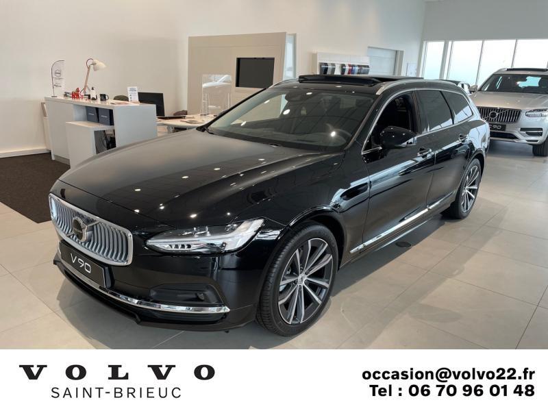 Photo 1 de l'offre de VOLVO V90 B4 Adblue 197ch Inscription Luxe Geartronic à 61900€ chez Côte Ouest Automobiles