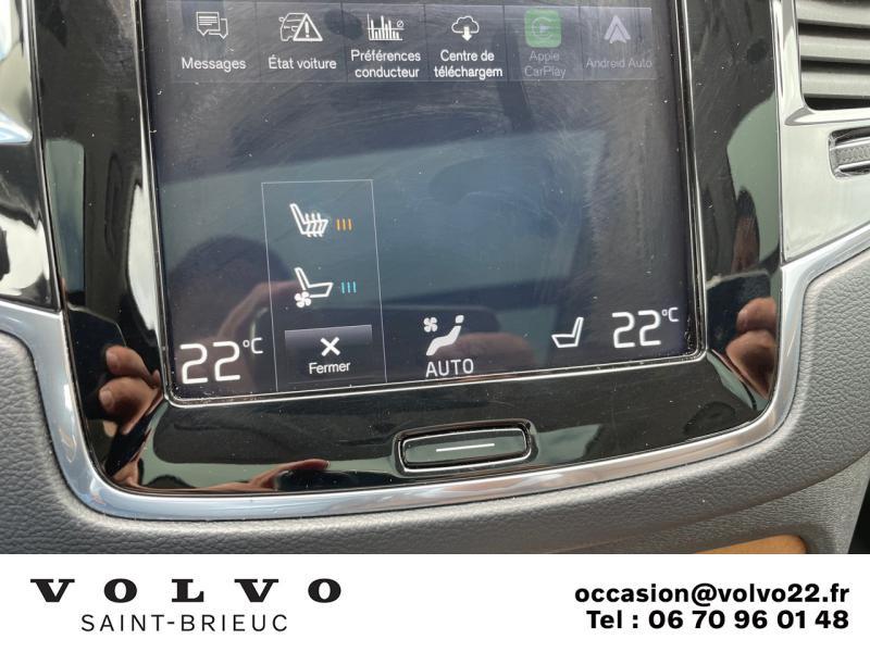 Photo 23 de l'offre de VOLVO XC90 T8 Twin Engine 320 + 87ch Inscription Luxe Geartronic 7 places à 52990€ chez Côte Ouest Automobiles