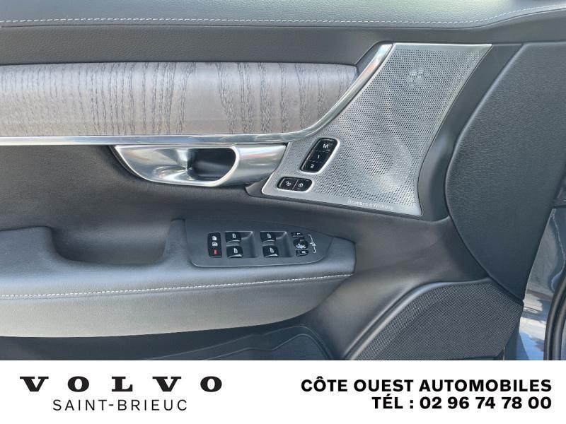 Photo 16 de l'offre de VOLVO V90 B4 Adblue 197ch Inscription Luxe Geartronic à 54990€ chez Côte Ouest Automobiles