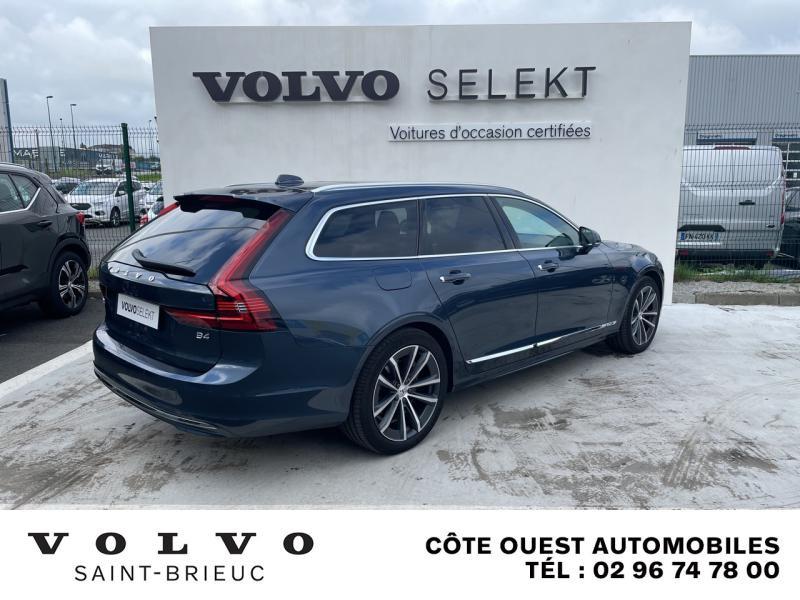 Photo 2 de l'offre de VOLVO V90 B4 Adblue 197ch Inscription Luxe Geartronic à 54990€ chez Côte Ouest Automobiles
