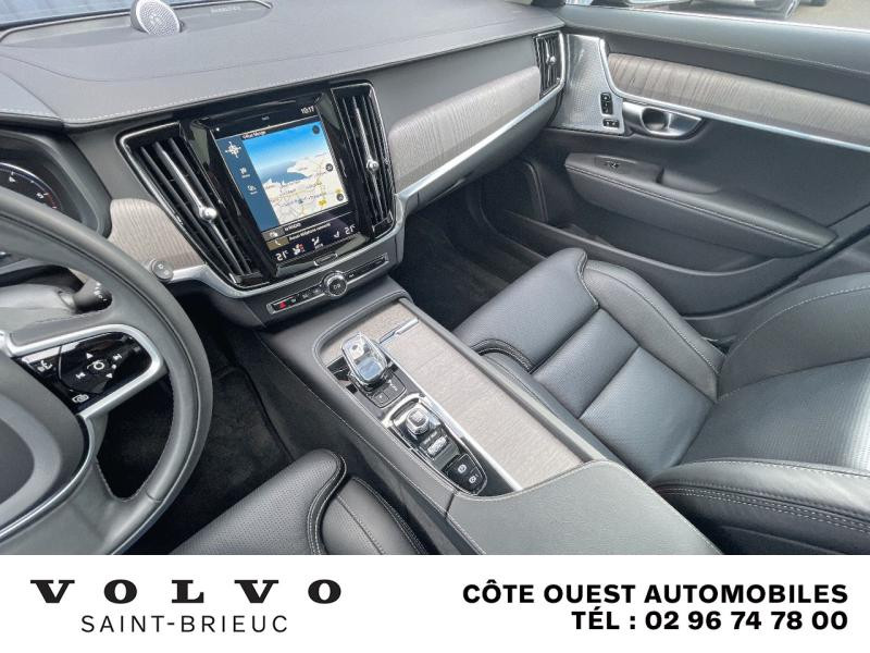 Photo 7 de l'offre de VOLVO V90 B4 Adblue 197ch Inscription Luxe Geartronic à 54990€ chez Côte Ouest Automobiles