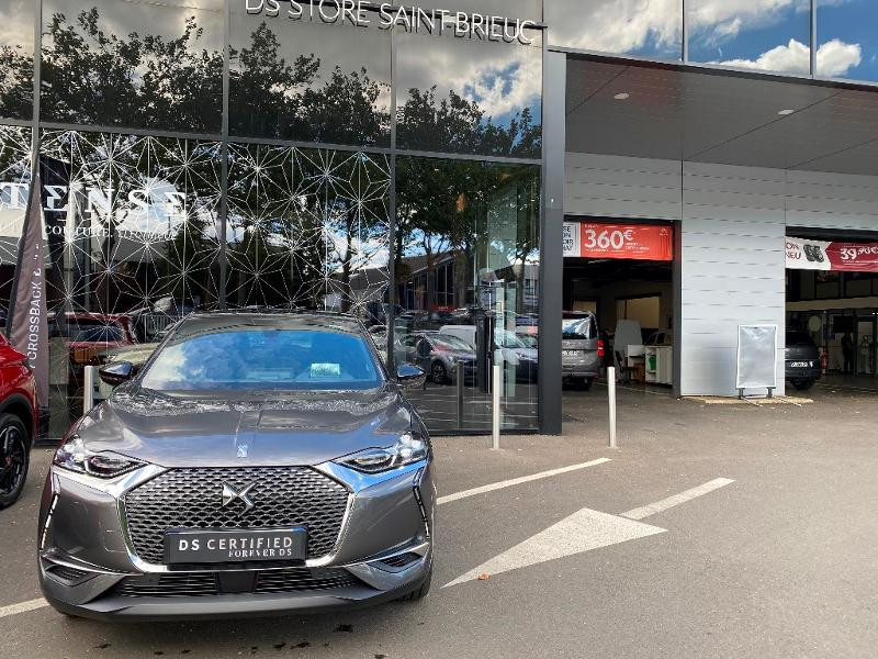 Photo 1 de l'offre de DS DS 3 Crossback PureTech 130ch Grand Chic Automatique 109g à 35990€ chez Citroen Saint-Brieuc Savra