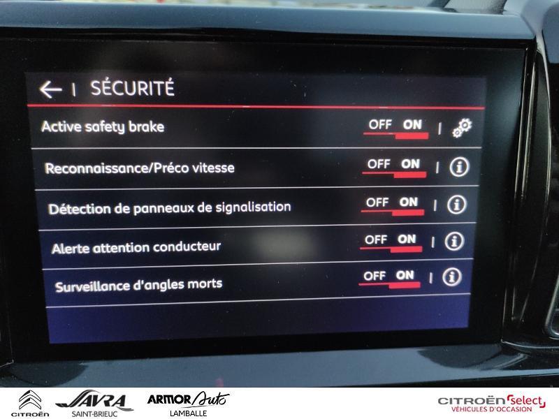 Photo 20 de l'offre de CITROEN C5 Aircross PureTech 180ch S&S Shine EAT8 à 27990€ chez Citroen Saint-Brieuc Savra