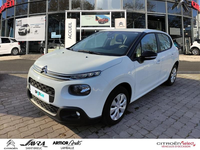 Citroen C3 BlueHDi 75ch Feel Business S&S 83g Diesel Blanc Occasion à vendre