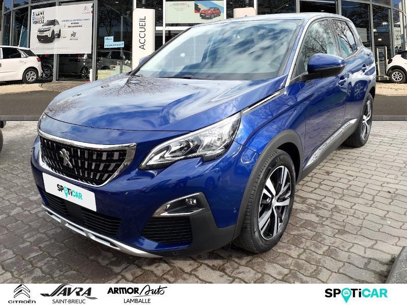 Peugeot 3008 1.5 BlueHDi 130ch E6.c Allure S&S Diesel Bleu Magnétic Occasion à vendre