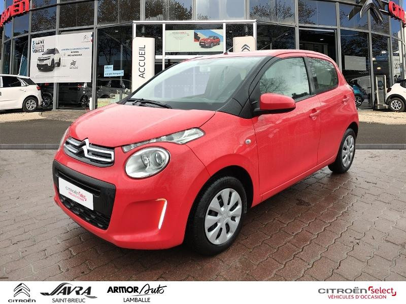 Citroen C1 VTi 68 Feel 5p Essence Sunrise Red Occasion à vendre