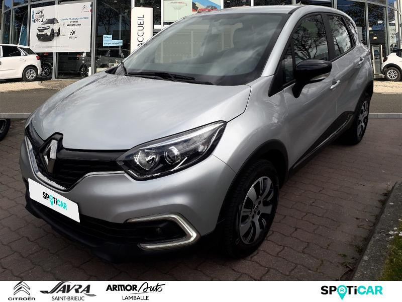Renault Captur 1.5 dCi 90ch energy Business eco² Diesel Gris Clair Métal Occasion à vendre