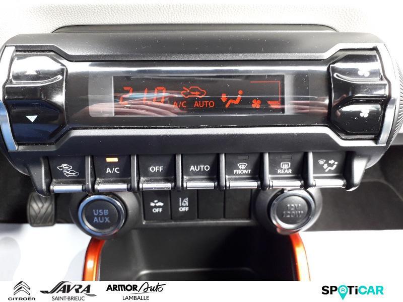 Photo 16 de l'offre de SUZUKI Ignis 1.2 Dualjet 90ch Hybrid SHVS Pack à 8790€ chez Citroen Saint-Brieuc Savra
