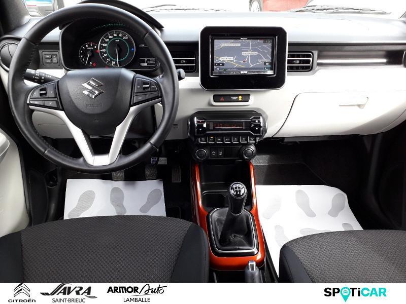Photo 8 de l'offre de SUZUKI Ignis 1.2 Dualjet 90ch Hybrid SHVS Pack à 8790€ chez Citroen Saint-Brieuc Savra