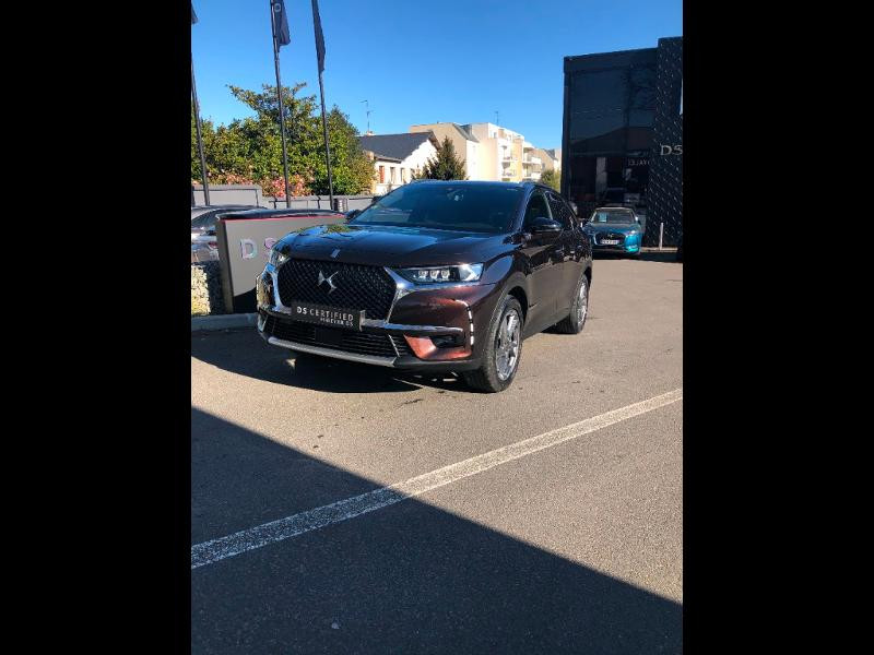 Ds DS 7 Crossback BlueHDi 180ch Grand Chic Automatique 128g Diesel Brun Andradite Occasion à vendre