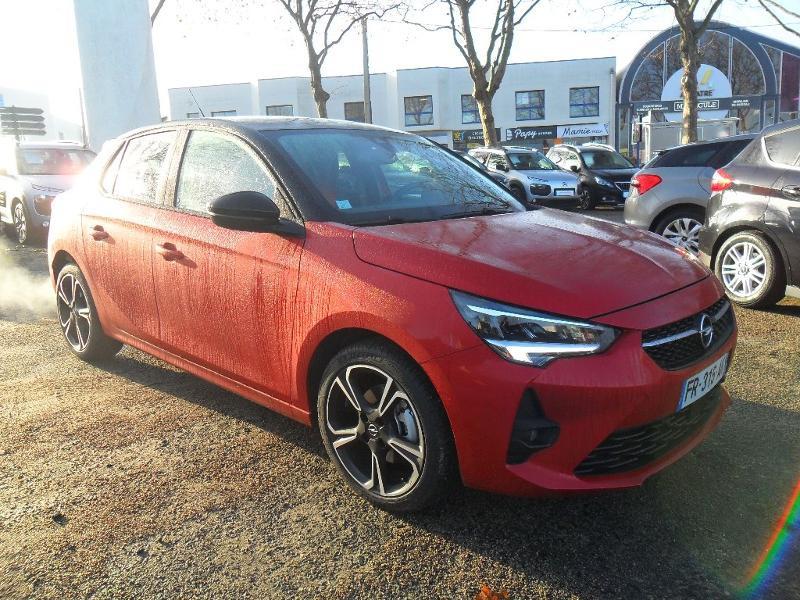 Opel Corsa 1.2 Turbo 100ch GS Line BVA Essence Rouge/Toit Noir Occasion à vendre