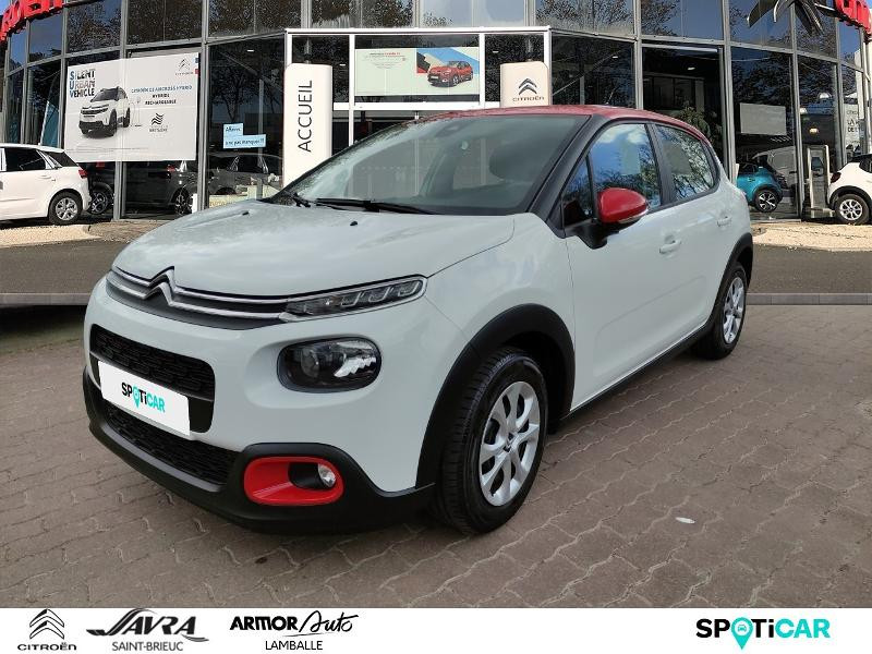 Citroen C3 PureTech 82ch Feel Business S&S E6.d-TEMP Essence Blanc Occasion à vendre