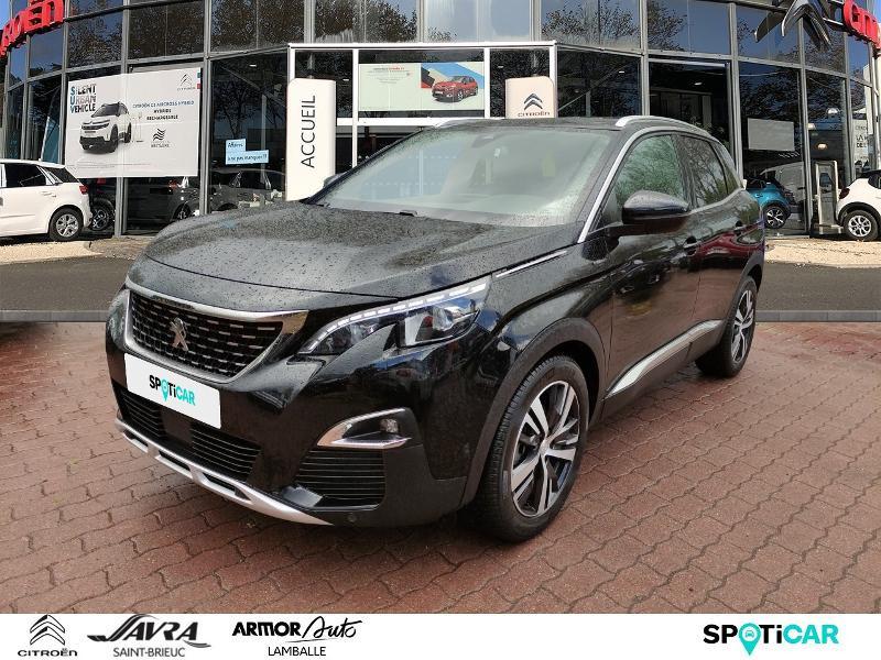 Peugeot 3008 1.6 BlueHDi 120ch GT Line S&S Diesel Noir Métal Occasion à vendre