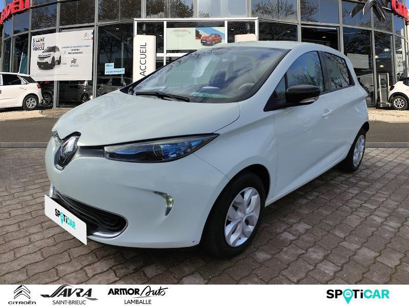 Renault Zoe Life charge normale Electrique BLANC Occasion à vendre