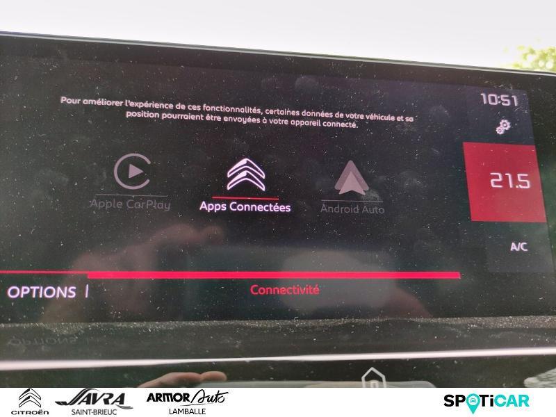 Photo 14 de l'offre de CITROEN C4 pure tech 130 feel pack à 22490€ chez Citroën SAVRA