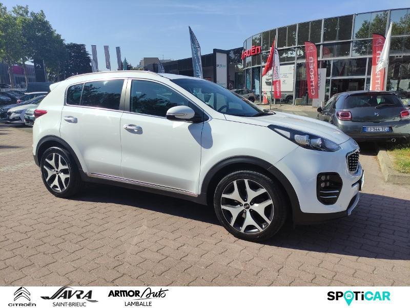 Photo 3 de l'offre de KIA Sportage 1.7 CRDi 141ch ISG GT Line 4x2 DCT7 à 22990€ chez Citroën SAVRA