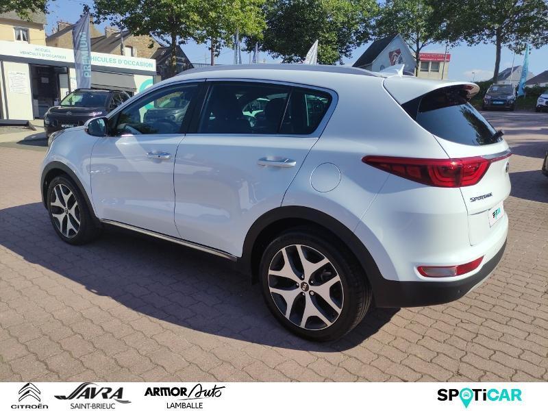 Photo 7 de l'offre de KIA Sportage 1.7 CRDi 141ch ISG GT Line 4x2 DCT7 à 22990€ chez Citroën SAVRA