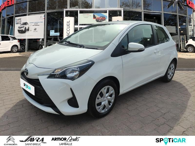 Toyota Yaris 70 VVT-i France 3p Essence Blanc Occasion à vendre