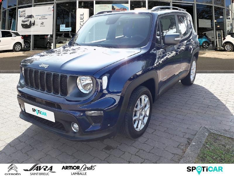 Jeep Renegade 1.0 GSE T3 120ch Quiksilver Edition Essence Bleu Foncé Métal Occasion à vendre